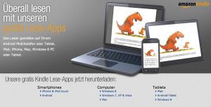Kostenlose kindle Lese-Apps für ebooks aus dem kindle store