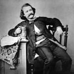 Wilhelm Busch, 1860, Scan, Autor: Edgar Hanfstaengl